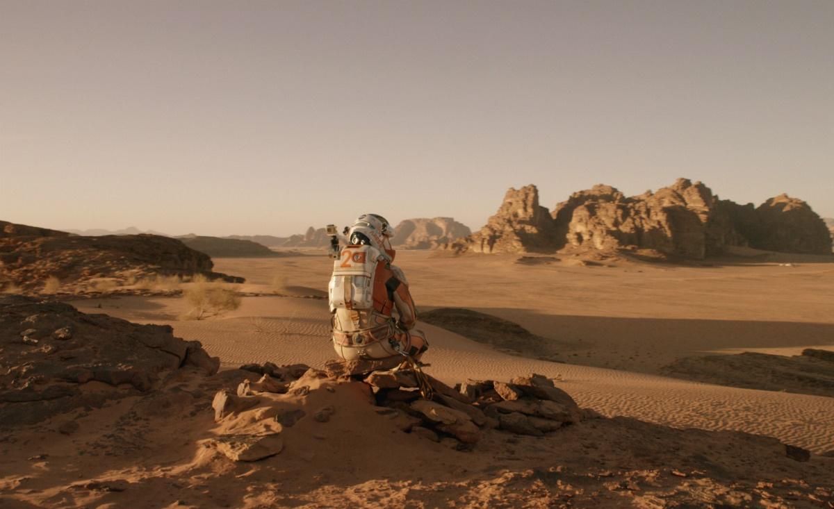 A vida em Marte