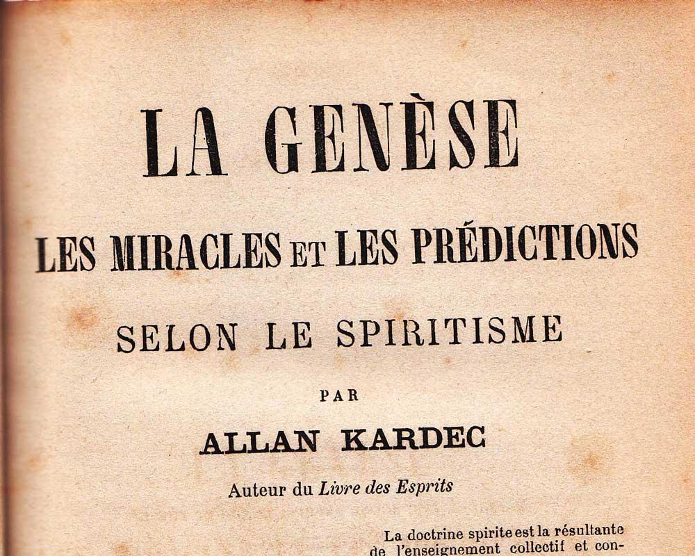 A Gênese, de Allan Kardec