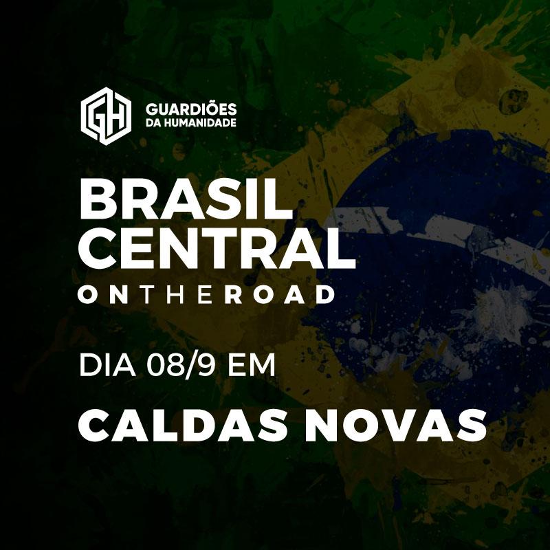 Brasil Central on the road em Caldas Novas 8/9