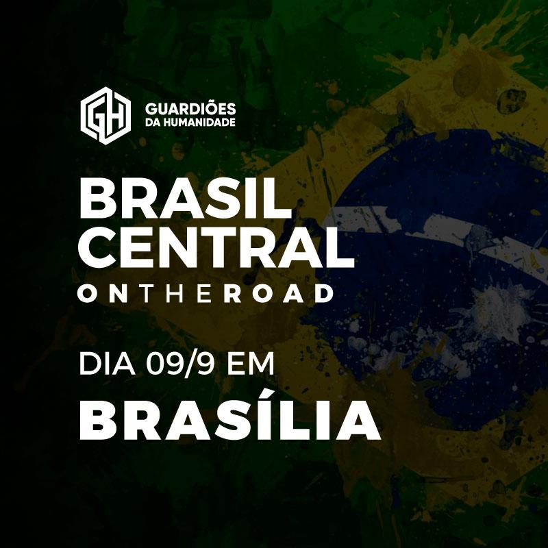 Brasil Central on the road em Brasília  9/7